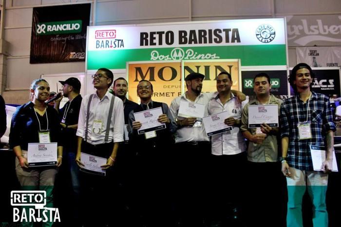 Finalistas Reto Barista 2016