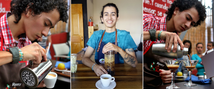 Remy Molina: un barista sinlímites