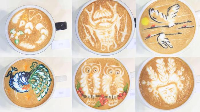 Arte Latte nivel CampeonatoMundial