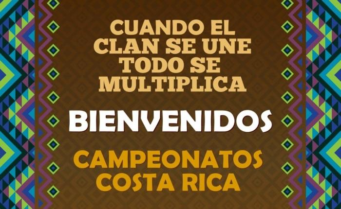 ¡Bienvenidos Campeonatos CostaRica!