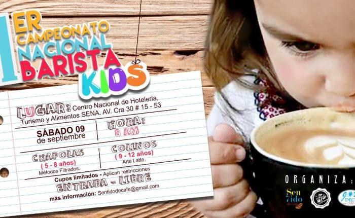 [Colombia] I Campeonato Barista Kids2017