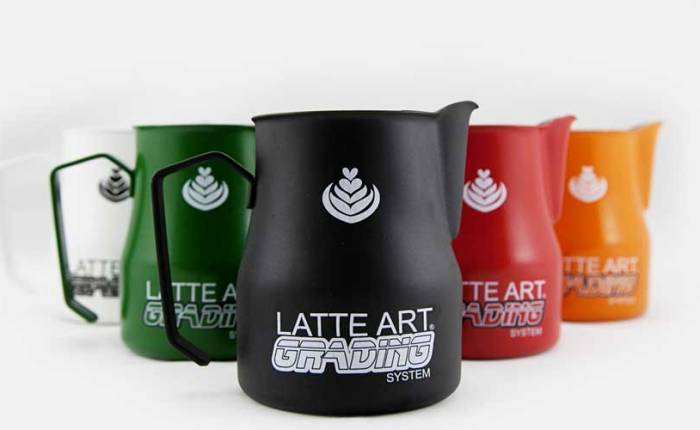 Latte Art Grading System: la certificación del arte concafé