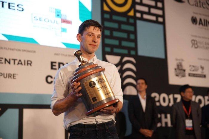 Dale Harris – Barista CampeónMundial