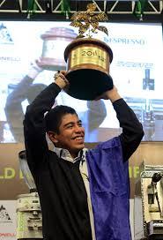 Alejandro Mendez, Barista Campeón Mundial 2011