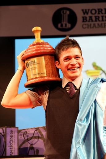 Raúl Rodas, Barista Campeón Mundial 2012